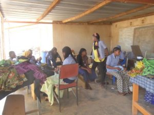 Women's workshop in Ouagadougou